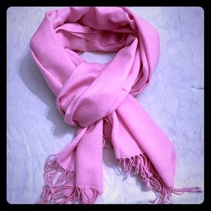 Pretty in Pink Pashmina